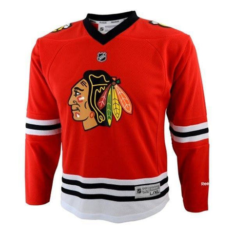 Chicago Blackhawks Home Replica Child Jersey (4-7) - Pro Jersey Sports