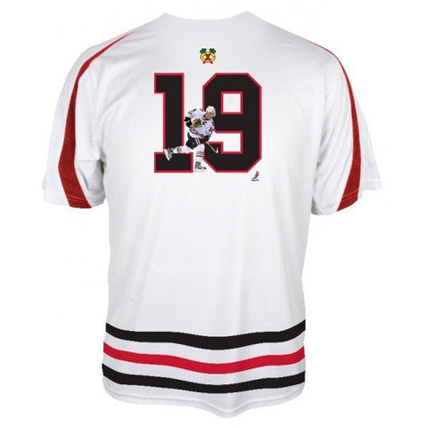 CHICAGO BLACKHAWKS NHL TRAINING PLAYER TEE-JONATHAN TOEWS - Pro Jersey Sports - 1
