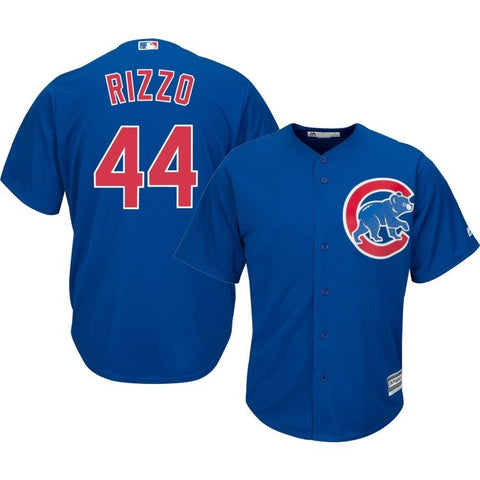 Chicago Cubs Youth Anthony Rizzo Alternate Royal Blue Replica Jersey