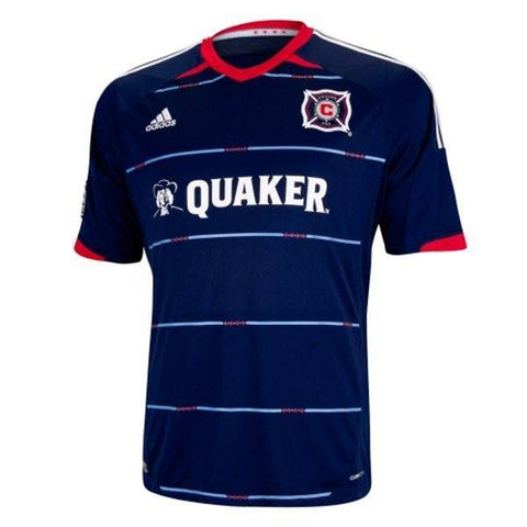 Chicago Fire SC adidas Navy Blue 2014 Replica Secondary Jersey - Pro Jersey Sports - 1