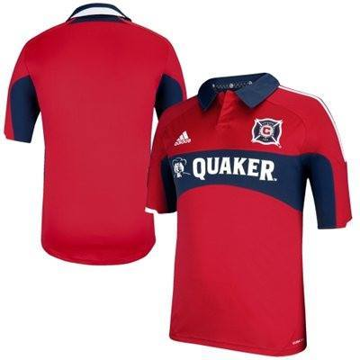 Men's Chicago Fire SC adidas Red Primary Replica Jersey