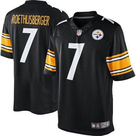 Men's Nike Pittsburgh Steelers Ben Roethlisberger LIMITED Team Color Jersey