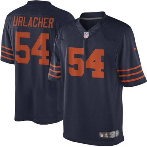 Nike Brian Urlacher Chicago Bears Limited Jersey Alternate Throwback