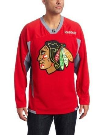 Reebok Chicago Blackhawks Red Practice Jersey - Pro Jersey Sports