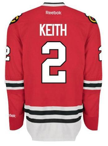 Mens Duncan Keith Chicago Blackhawks Authentic Home Jersey