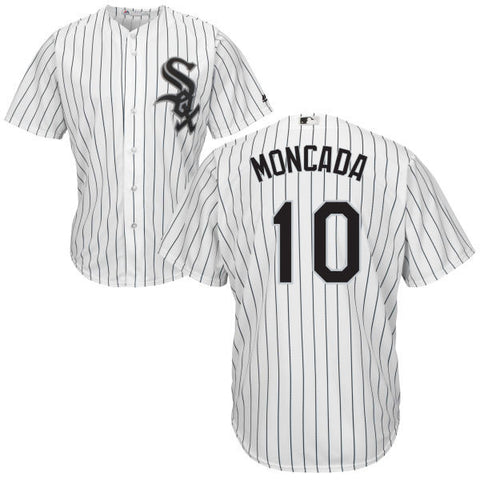 Yoan Moncada Chicago White Sox White Home Cool Base Replica Jersey By Majestic