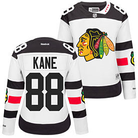 Reebok Womens Patrick Kane Chicago Blackhawks White 2016 Stadium Series Premier Jersey