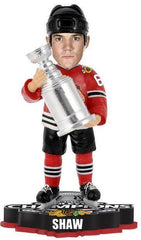 Andrew Shaw Chicago Blackhawks 2013 NHL Stanley Cup Final Champions Player Trophy Bobblehead - Pro Jersey Sports