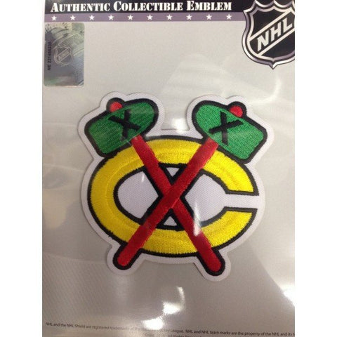 Chicago Blackhawks Road Tomahawk Patch