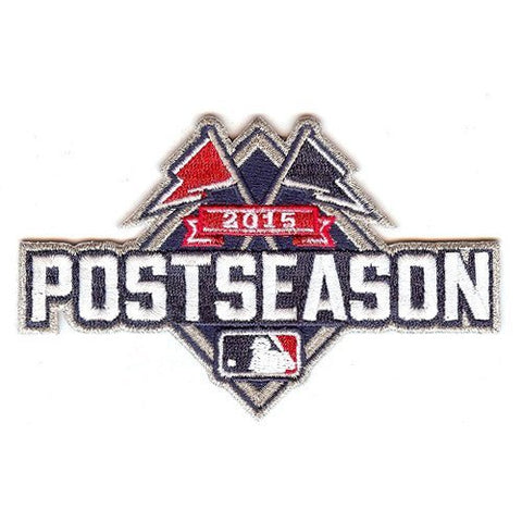 MLB Postseason 2015 Patch As Worn On Field by The Emblem Source - Pro Jersey Sports