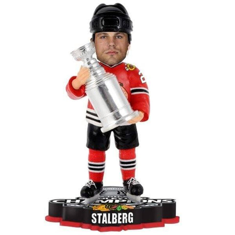 Victor Stalberg Chicago Blackhawks 2013 NHL Stanley Cup Final Champions Player Trophy Bobblehead - Pro Jersey Sports