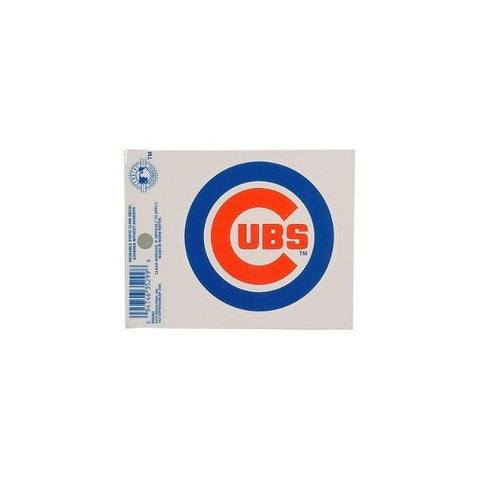 Chicago Cubs Logo Window Static Cling - Pro Jersey Sports