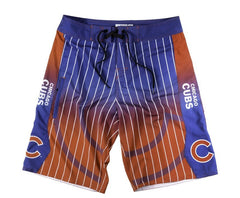 Chicago Cubs Official MLB Gradient Board Shorts - Pro Jersey Sports