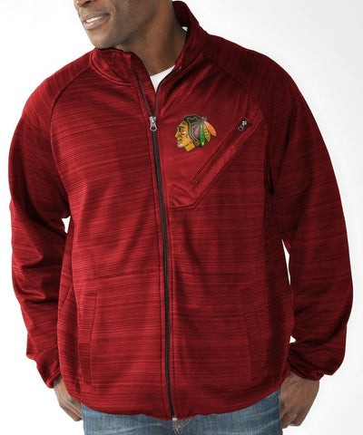 Chicago Blackhawks Men's Full Count Track Jacket