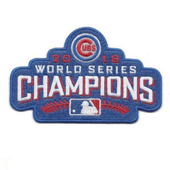 Chicago Cubs 2016 World Series Champions Collectible Patch - Pro Jersey Sports