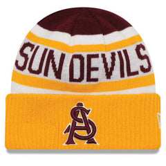 Arizona State Sun Devils Biggest Fan 2.0 Knit Hat By New Era - Pro Jersey Sports