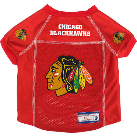 Chicago Blackhawks Red NHL Pet Jersey, Little Earth