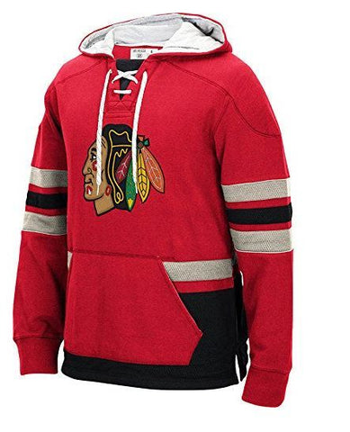Chicago Blackhawks Red CCM Heavyweigt Hoodie - Pro Jersey Sports