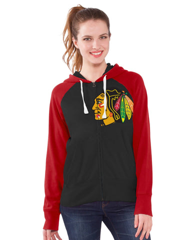 Chicago Blackhawks Women's Batting Practice Hoodie Sweatshirt By Touch