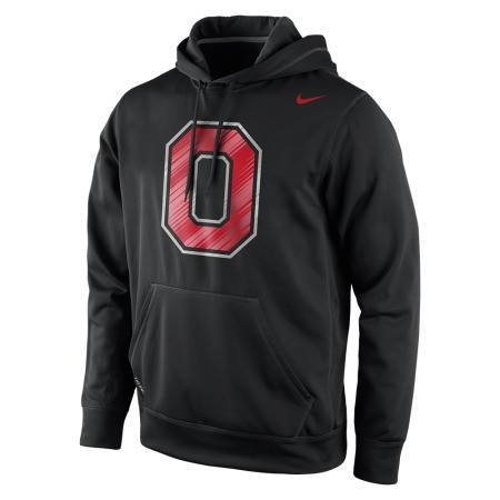 Nike Ohio State Buckeyes Warp Speed Performance Hoodie