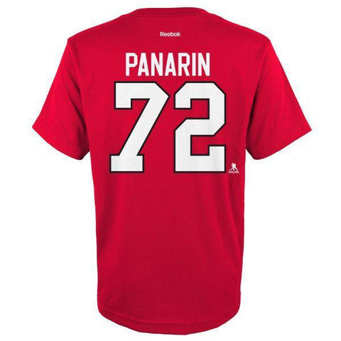 Artemi Panarin Chicago Blackhawks Youth Player Tee