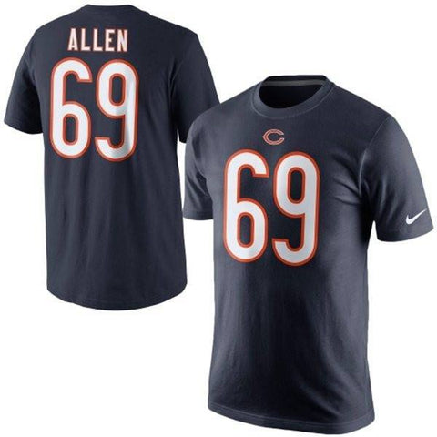 Chicago Bears Jared Allen Player Nike T-shirt