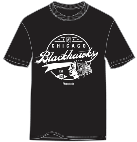 Chicago Blackhawks Instant Classic Black T-shirt - Pro Jersey Sports - 1