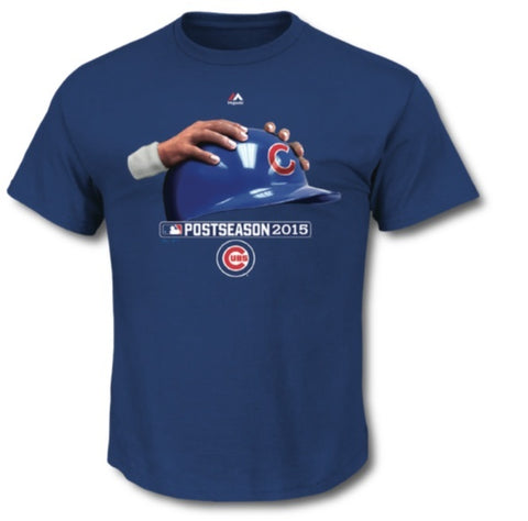 "Chicago Cubs Majestic ""MLB Men's Hands On T-Shirt"" - Pro Jersey Sports"