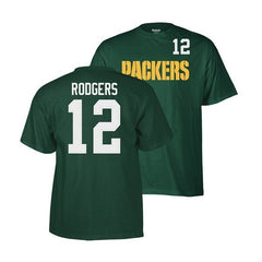 Green Bay Packers Aaron Rodgers Player T-Shirt
