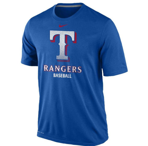 Texas Rangers Nike MLB Logo Legend 1.4 T-Shirt - Pro Jersey Sports - 1