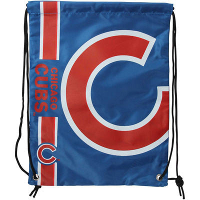 Chicago Cubs Big Logo Drawstring Backpack - Pro Jersey Sports