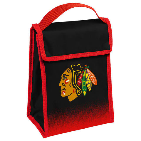 Chicago Blackhawks Gradient Lunch Bag