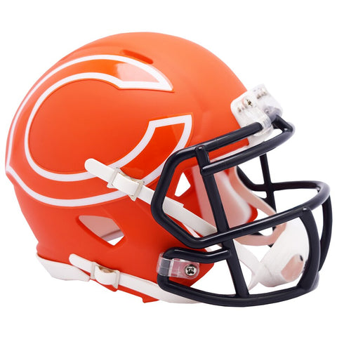 Chicago Bears AMP Speed Mini Football Helmet