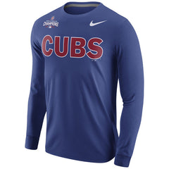 Chicago Cubs Nike 2016 World Series Champions Celebration Roster Long Sleeve T-Shirt - Royal