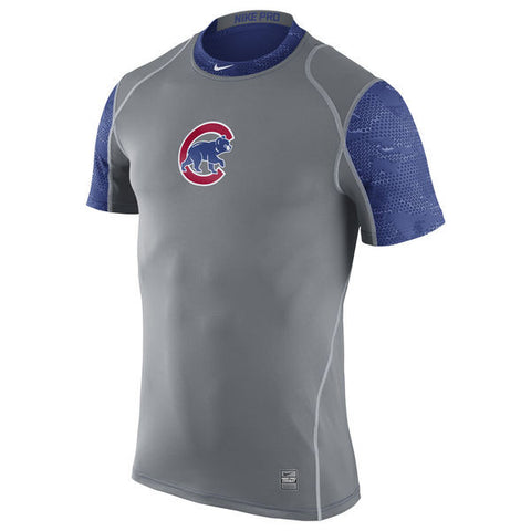 Chicago Cubs Nike Pro Cool Performance T-Shirt - Pro Jersey Sports - 1