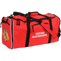 Chicago Blackhawks Red Steal Duffel Bag - Pro Jersey Sports - 1