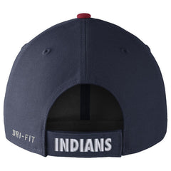 Men's Cleveland Indians Nike Navy Wool Classic Adjustable Performance Hat