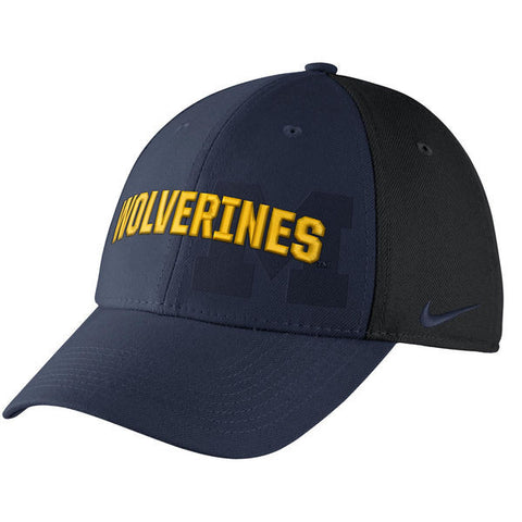 Michigan Wolverines Nike NCAA Classic 99 Swoosh Flex Cap