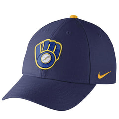 Men's Milwaukee Brewers Nike Royal Wool Classic Adjustable Performance Hat