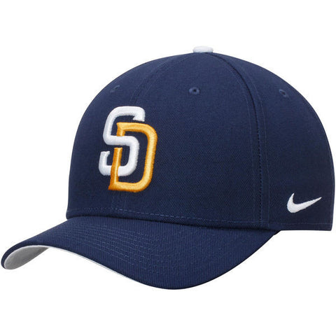 Men's San Diego Padres Nike Navy Wool Classic Adjustable Performance Hat
