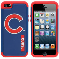 Chicago Cubs Hybrid 2-Piece iPhone 5 Cover - Royal Blue - Pro Jersey Sports