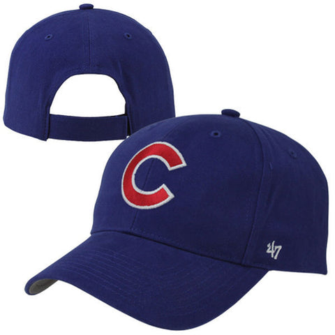 '47 Brand Chicago Cubs Youth Basic Structured Cap - Royal Blue