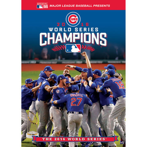 Chicago Cubs 2016 World Series Champions Commemorative DVD - Pro Jersey Sports - 1