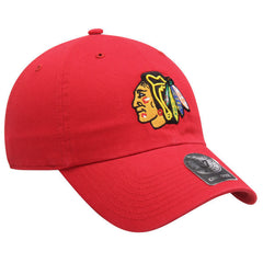 47 Brand Chicago Blackhawks Cleanup Adjustable Hat - Pro Jersey Sports - 1