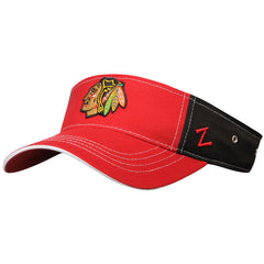 Chicago Blackhawks Adult Advisor Visor - Pro Jersey Sports - 1
