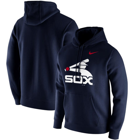 Men's Chicago White Sox Nike Navy Club Hoodie