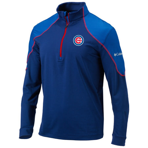 Men's Chicago Cubs Columbia Omni-Wick Panel Pullover Jacket