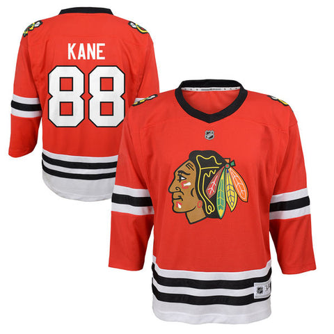 Toddler Chicago Blackhawks Patrick Kane Red Replica Player Jersey