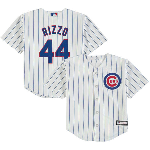 Child Anthony Rizzo Chicago Cubs Home Cool Base Jersey By Majestic