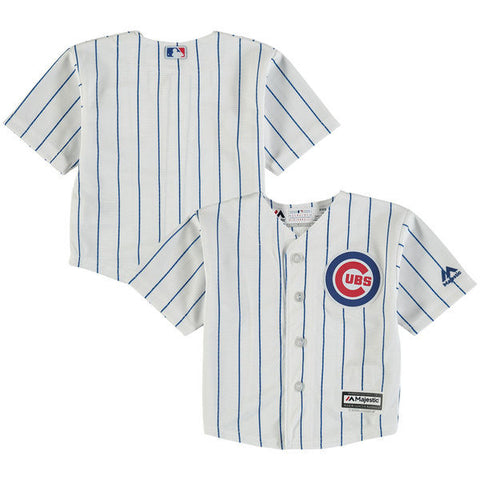 Chicago Cubs Toddler Replica Home Cool Base Jersey by Majestic Athletic